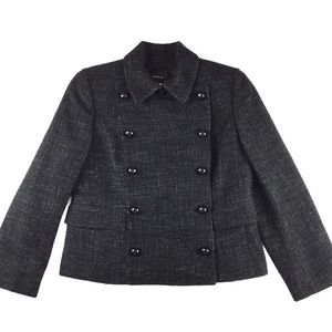 AKRIS Double Breasted Wool blend jacket, 8